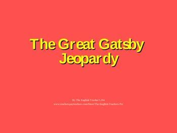 Critical analysis essay great gatsby